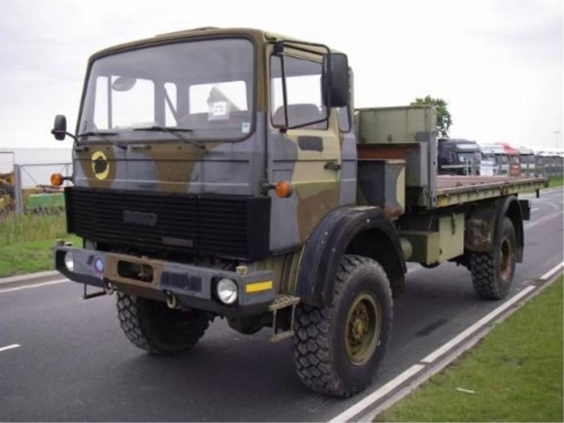 leger vrachtwagen Magirus 110 X 16 AW 4X4 EX-ARMY..4108 1988