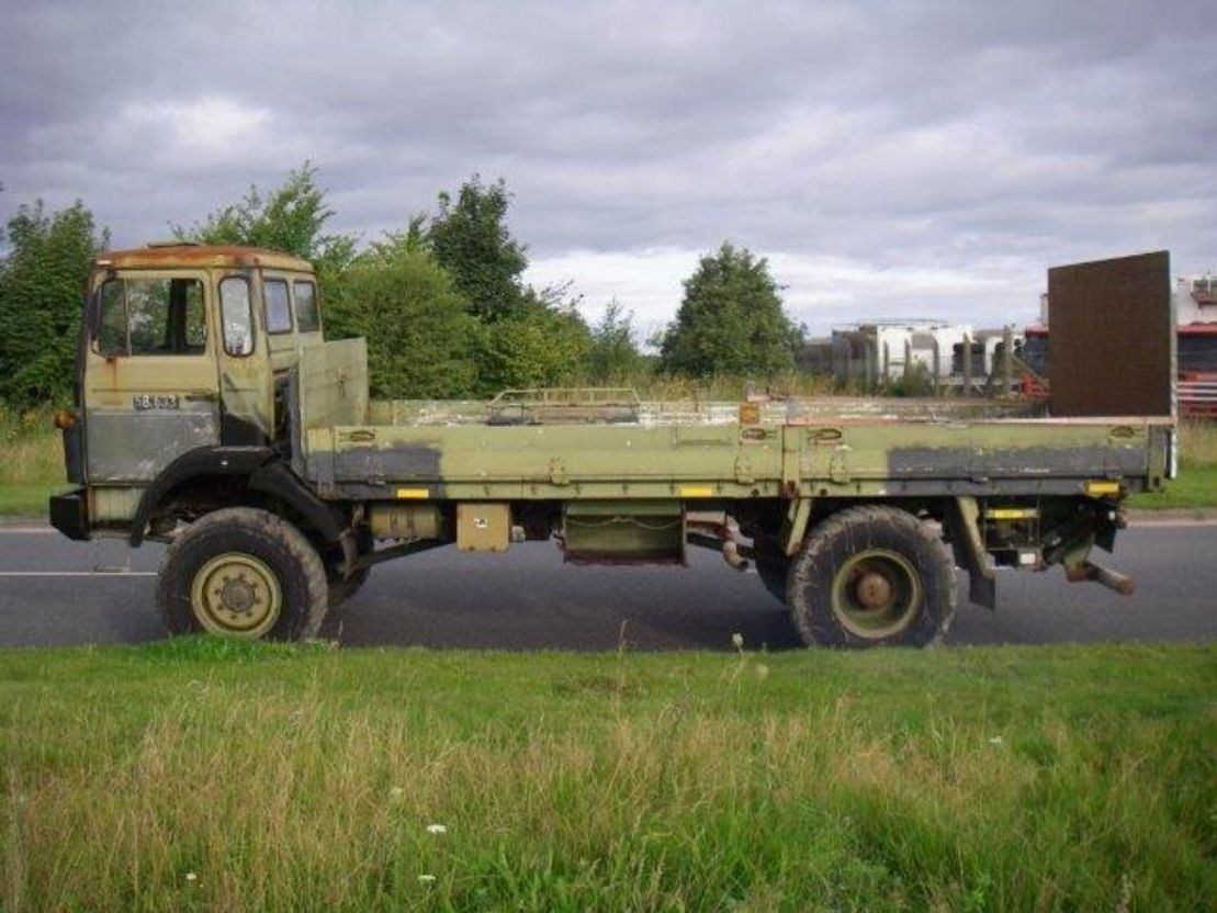 leger vrachtwagen Magirus 110 X 16 AW 4X4 EX.ARMY.LONG MODEL.4119 1987