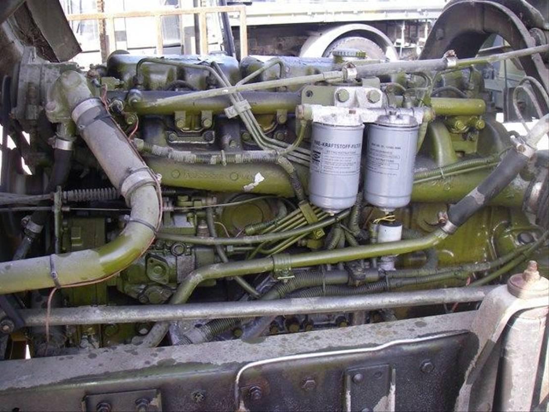 leger vrachtwagen MAN 8-136 FAE 4X4 EX-ARMY. 1985