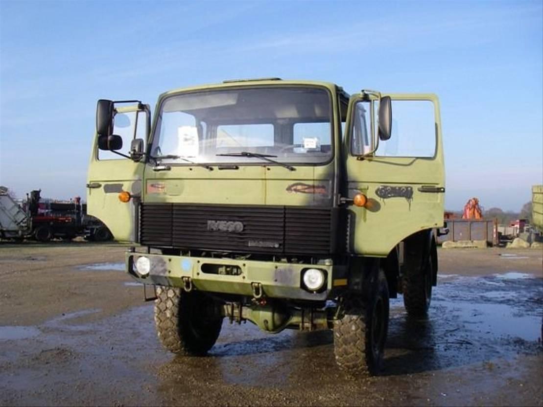 leger vrachtwagen Magirus 168 M 11FAL 4X4 168 HK..4133 1983