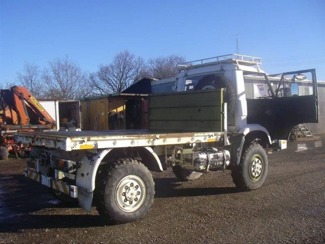 leger vrachtwagen MAN 8-136 FAE 4X4 EX-ARMY. 1987