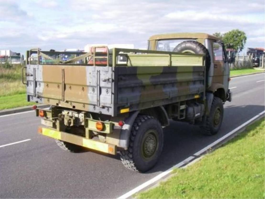 leger vrachtwagen MAN 8-136 FAE 4X4 EX-ARMY 1986