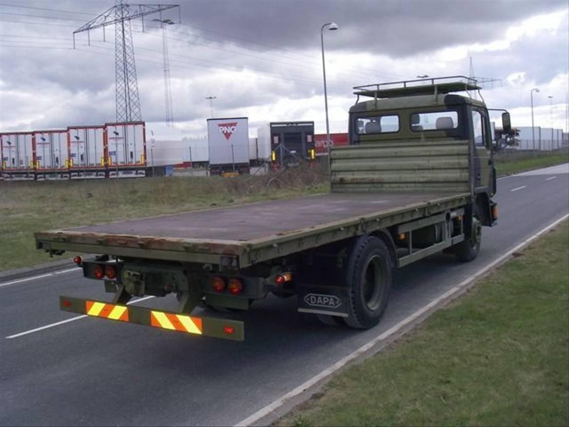 leger vrachtwagen MAN 13-192 F IC 4X2 EX-ARMY TRUCK. 1995