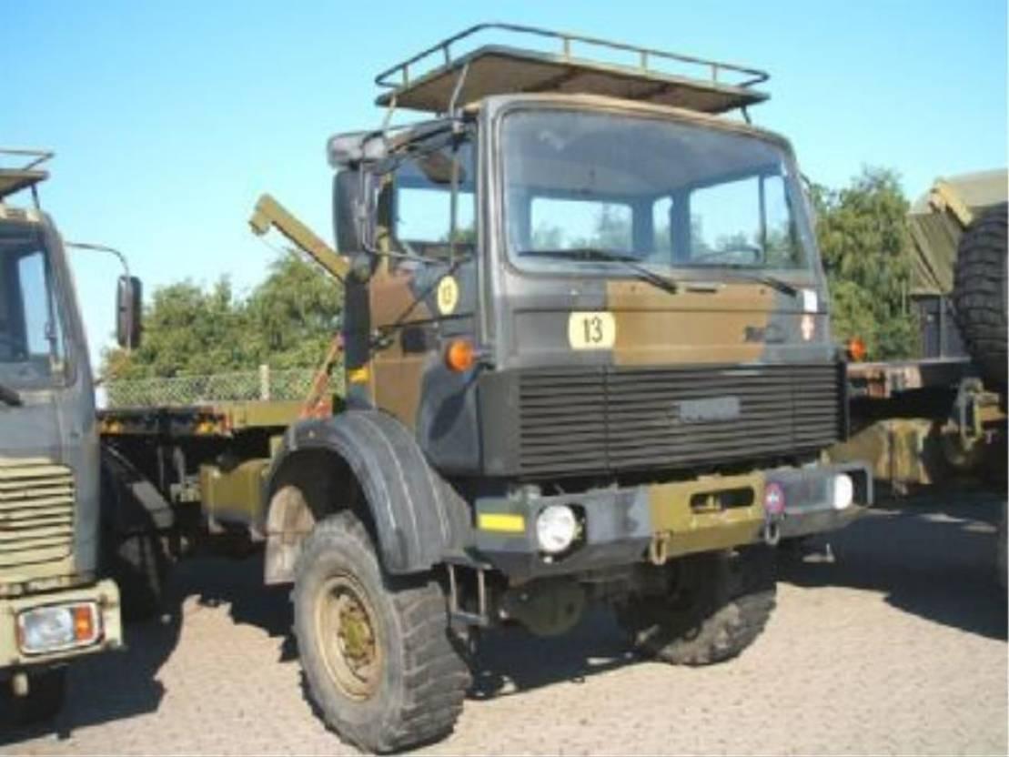 leger vrachtwagen Magirus 168 M 11 FAL.4X4 EX-ARMY.168 HK..4060.. 1984