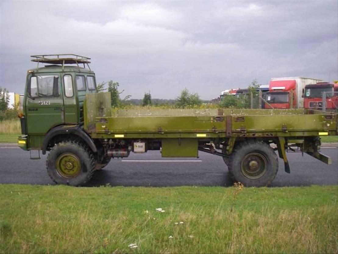 leger vrachtwagen Magirus 168 M 11 FAL 4X4 EX-ARMY 168 HK.LONG MODEL 4069. 1984