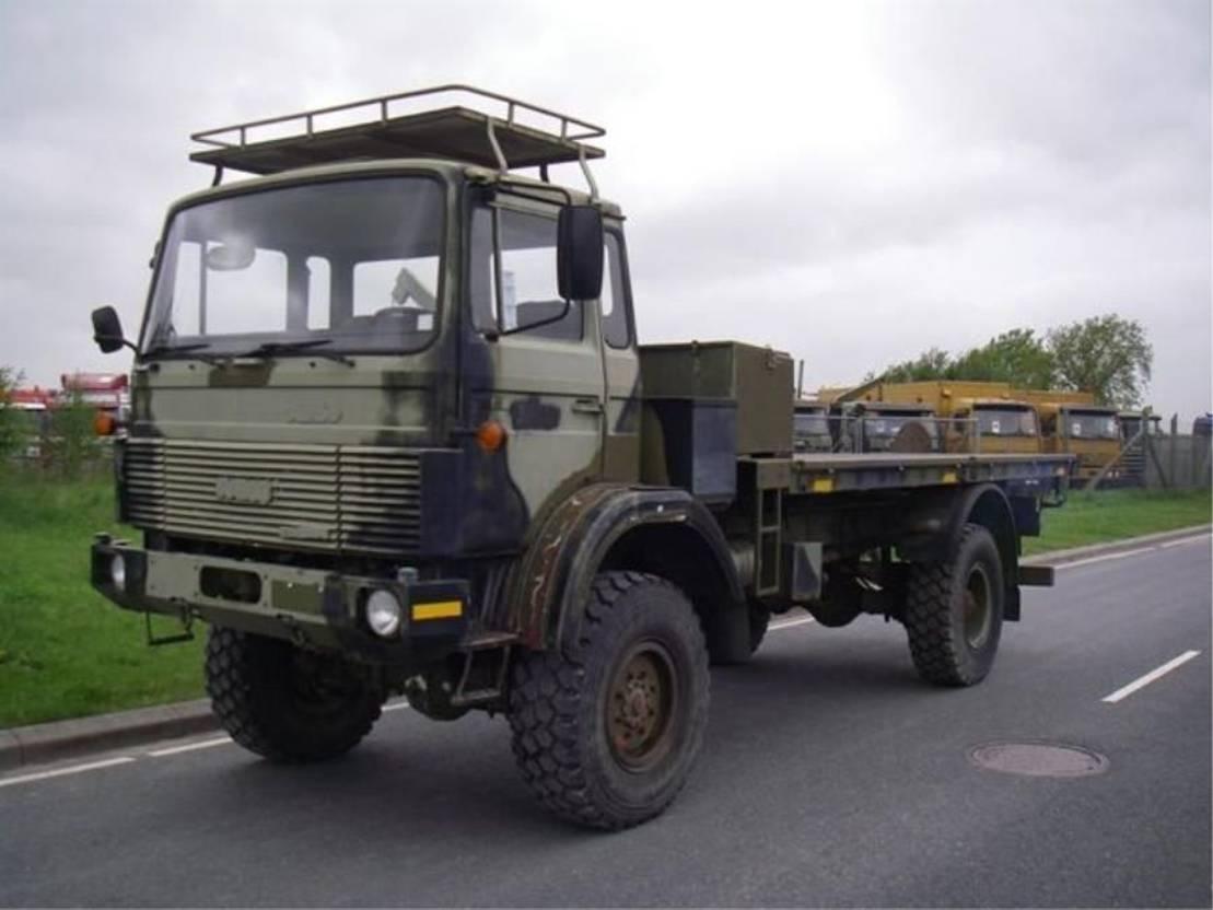 leger vrachtwagen Magirus 110 X 16 AW 4X4 EX-ARMY.3719 1988
