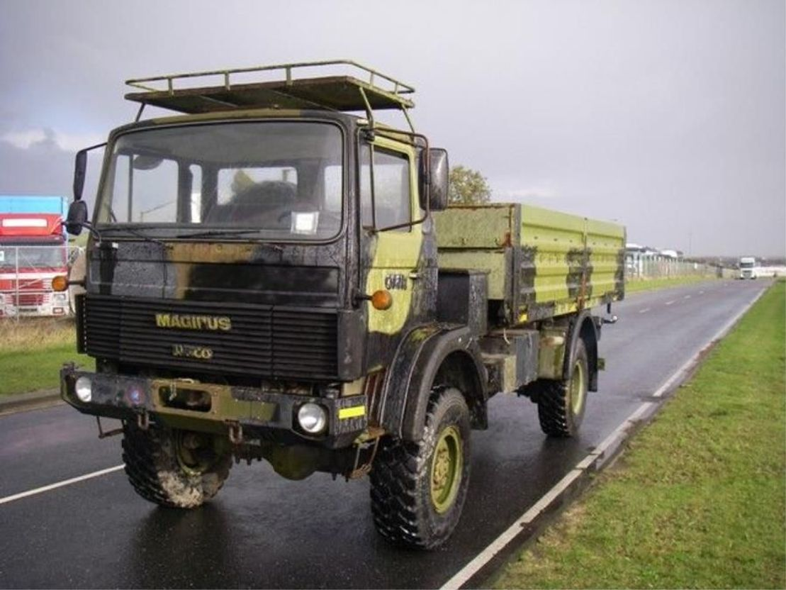 leger vrachtwagen Magirus 110 X 16 AW 4X4. 168 HK..4093 1988