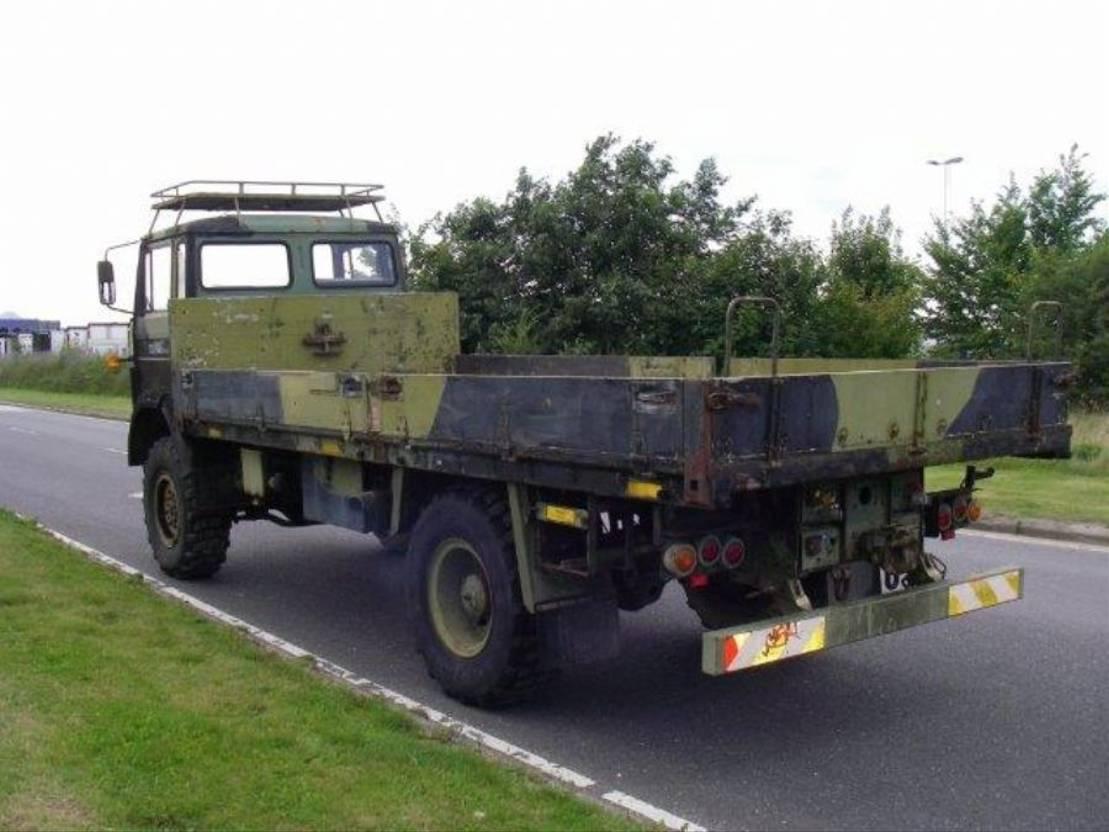leger vrachtwagen Magirus 168 M 11 FAL 4X4 EX-ARMY 168 HK..4068 1984