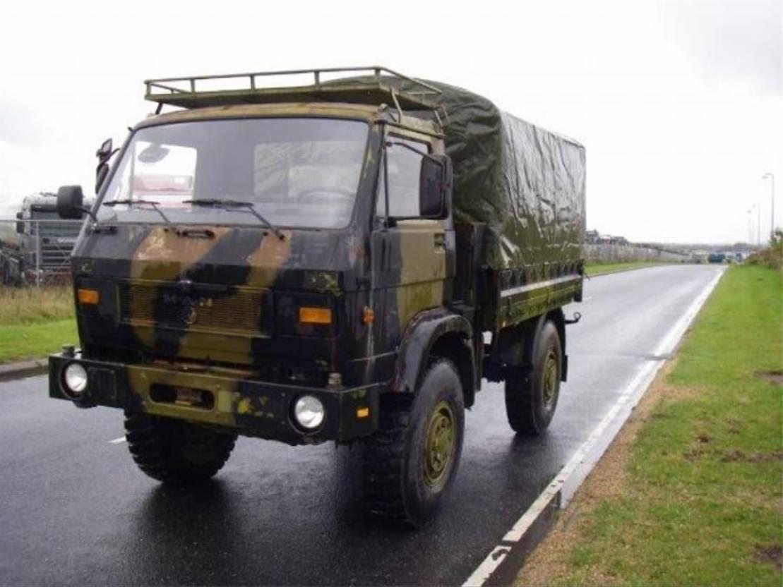 leger vrachtwagen MAN 8-136 FAE 4X4.EX-ARMY. 1987