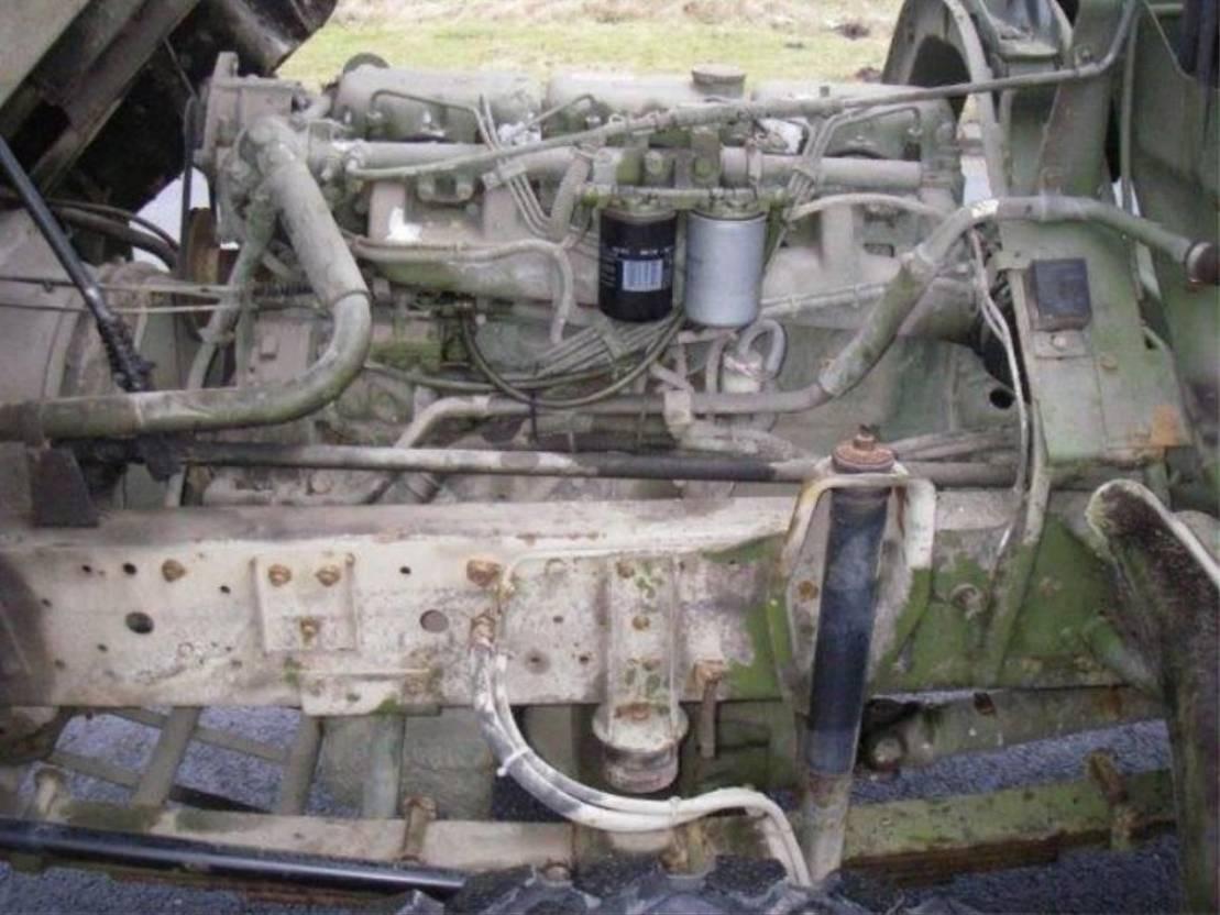 leger vrachtwagen MAN 8-136 FAE 4X4. 1990