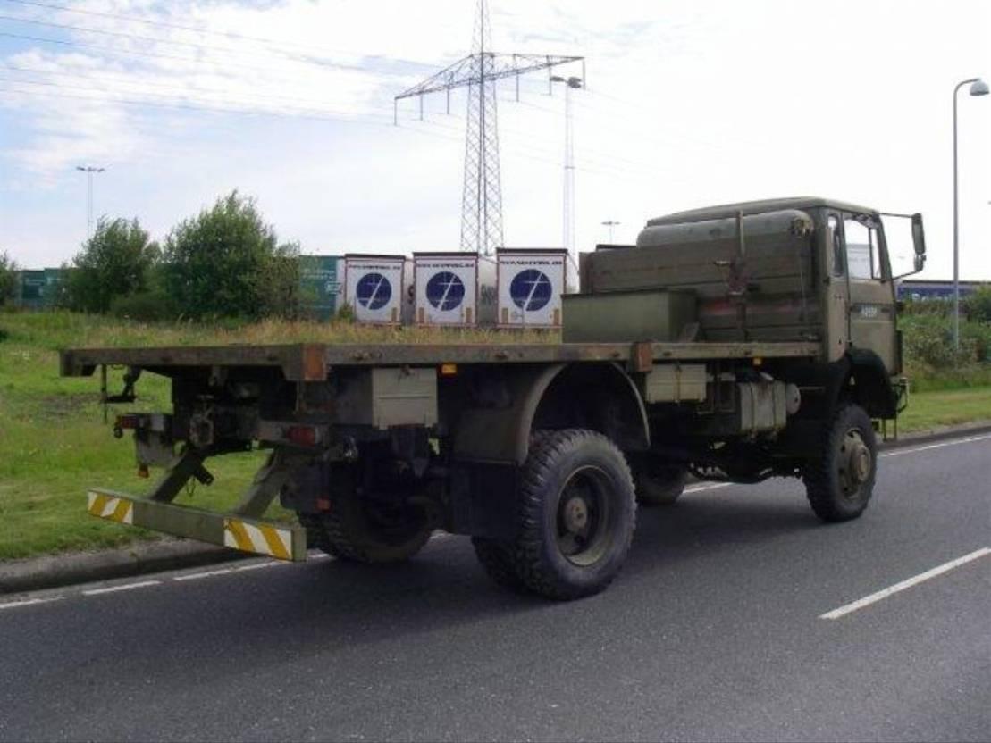 leger vrachtwagen Magirus 168 M 11 FAL.4X4 168 HK.TWIN WHEELS. 1984
