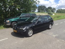 stationwagen BMW 3 Serie 318d Black & Silver II 2004