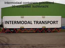geisoleerde zeecontainer intermodal 45 ft huckapack geisoleerd , luchtvracht , bloemenbreed 2000