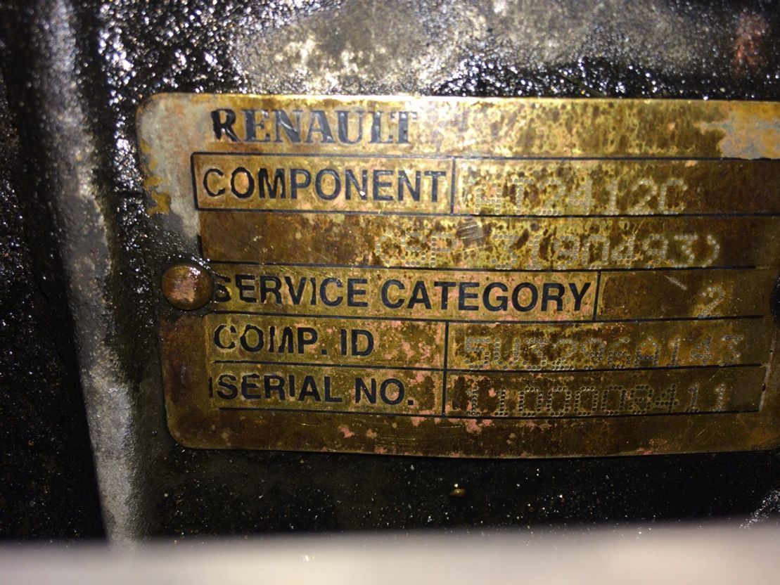 Automatische versnellingsbak vrachtwagen onderdeel Renault AT2412C, I shift, Retarder
