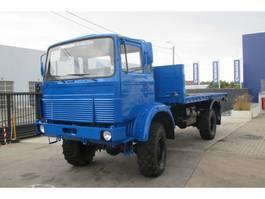 platform vrachtwagen Magirus Deutz 168M11FAL 4X4 (iveco 110-16) 1984