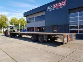 platte aanhanger vrachtwagen Van Hool 3 as 2005
