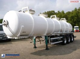 tankoplegger Guhur / Maisonneuve Chemical ACID tank Alu 24.2 m3 / 1 comp 1998