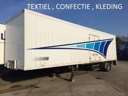 gesloten opbouw oplegger Smit Textiel , confectie , kledinghang , citytrailer , laadklep , alluminium 1994