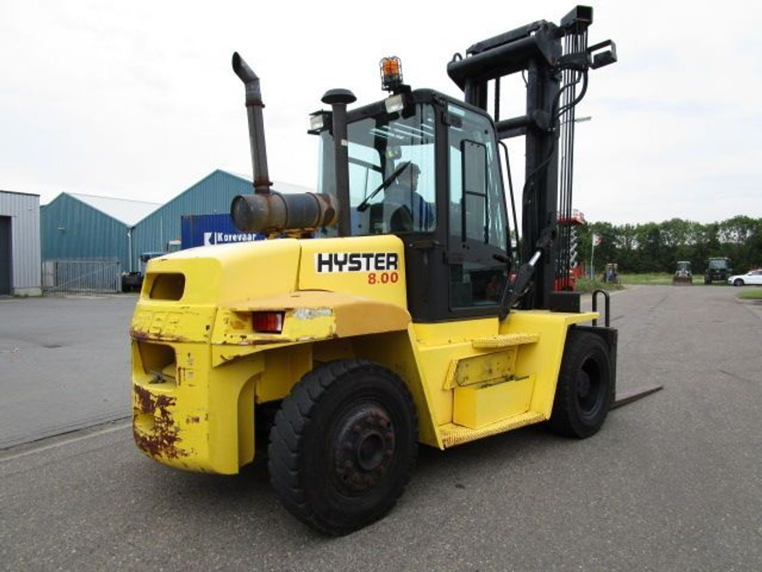vorkheftruck Hyster H8.00XM 2000