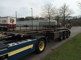 container chassis oplegger Contar 3 as container