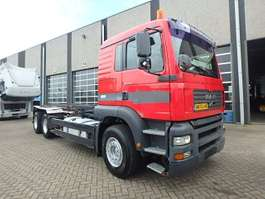 containersysteem vrachtwagen MAN TGA 410 + MANUAL! + Kablesystem 2002