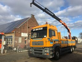 kraanwagen MAN TGA 410 6x2 Manual Gearbox with Crane 2001