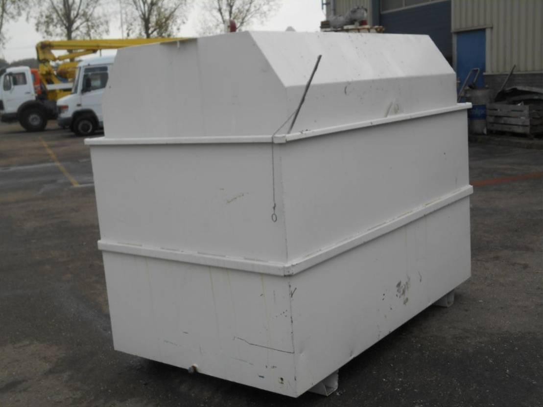 brandstof systeem bedrijfswagen onderdeel DIV. Diesel Fuel Tank 3.500L