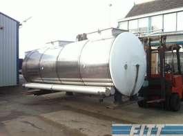 tankwagen vrachtwagen Van Hool 13.000 L RVS ISO tank, 2 comp 1998