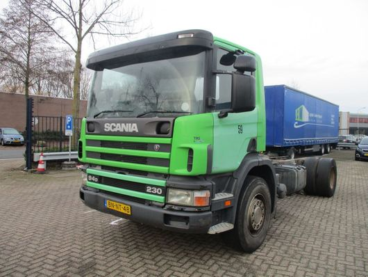 chassis cabine vrachtwagen Scania 94 DB 4X2 NA 230 RHD afrika 2003