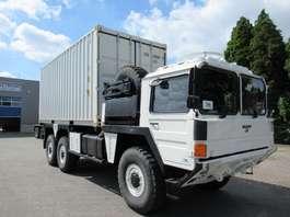 leger vrachtwagen MAN KAT A1.1 25.422 6x6 container 20Ft !! 1995