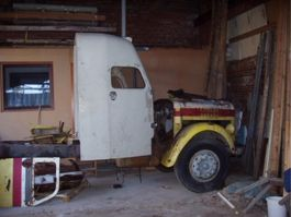 oldtimer vrachtwagen Scania L71 1961