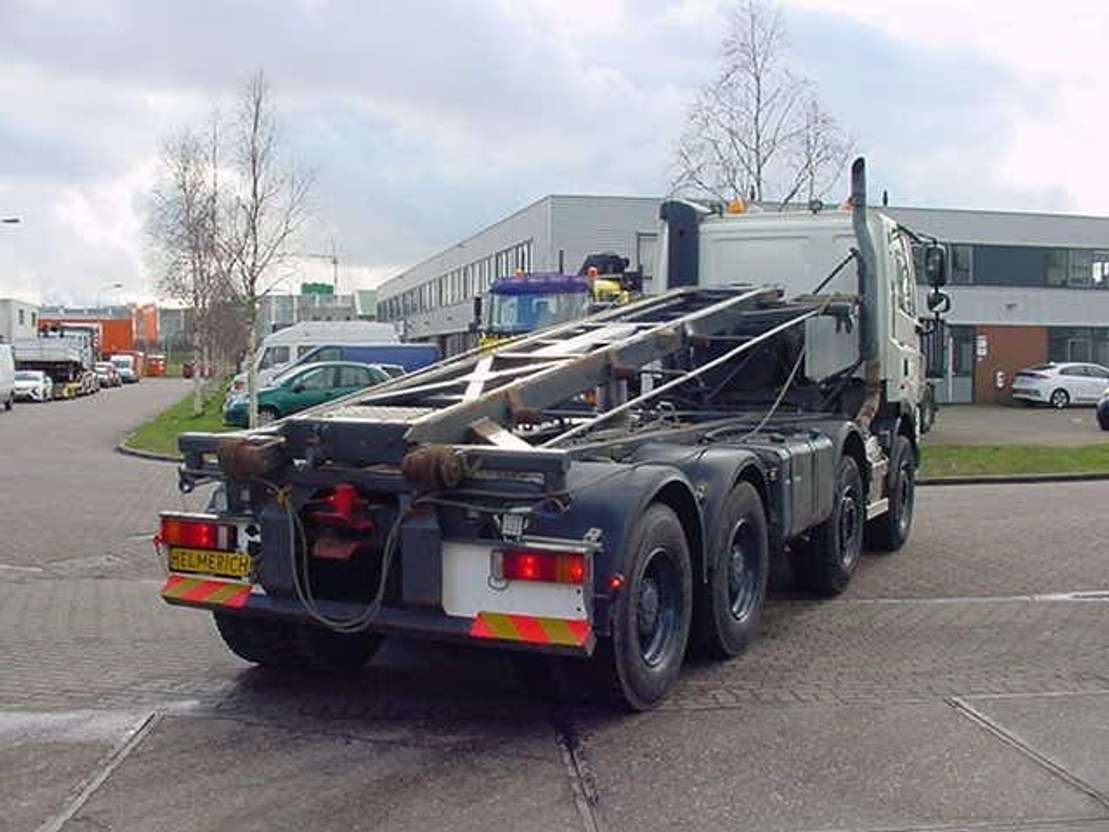 containersysteem vrachtwagen DAF 85 CF 460 EURO 5 8X4 FULLSTEELSUSPENSION 2007