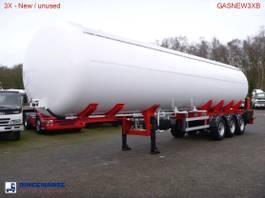 tankoplegger MTD Gas tank steel 57 m3 NEW - 3 Axle BPW - DRUM 2017