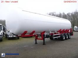 tankoplegger MTD Gas tank steel 57 m3 NEW - 3 Axle BPW - DISC 2017