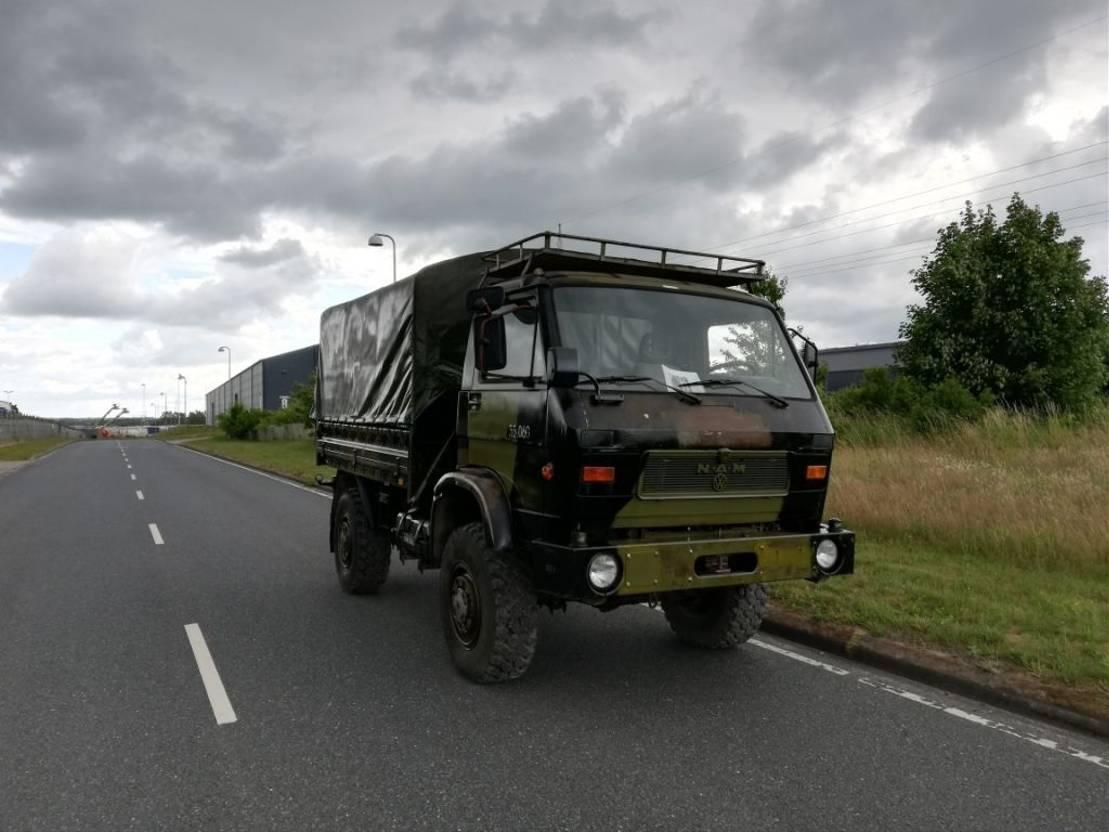 leger vrachtwagen MAN 8-136 FAE 4X4 1986