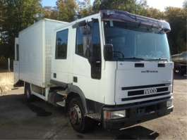 bakwagen vrachtwagen Iveco EUROCARGO 80E17  DOKA + TAILLIFT -118925 KM 2001