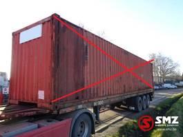 container chassis oplegger Meert Oplegger 1980