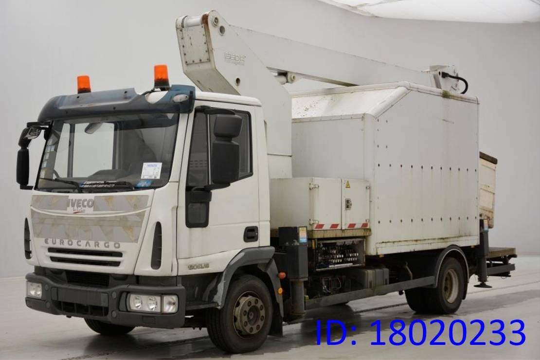 autohoogwerker vrachtwagen Iveco EuroCargo 120 120E18 2008