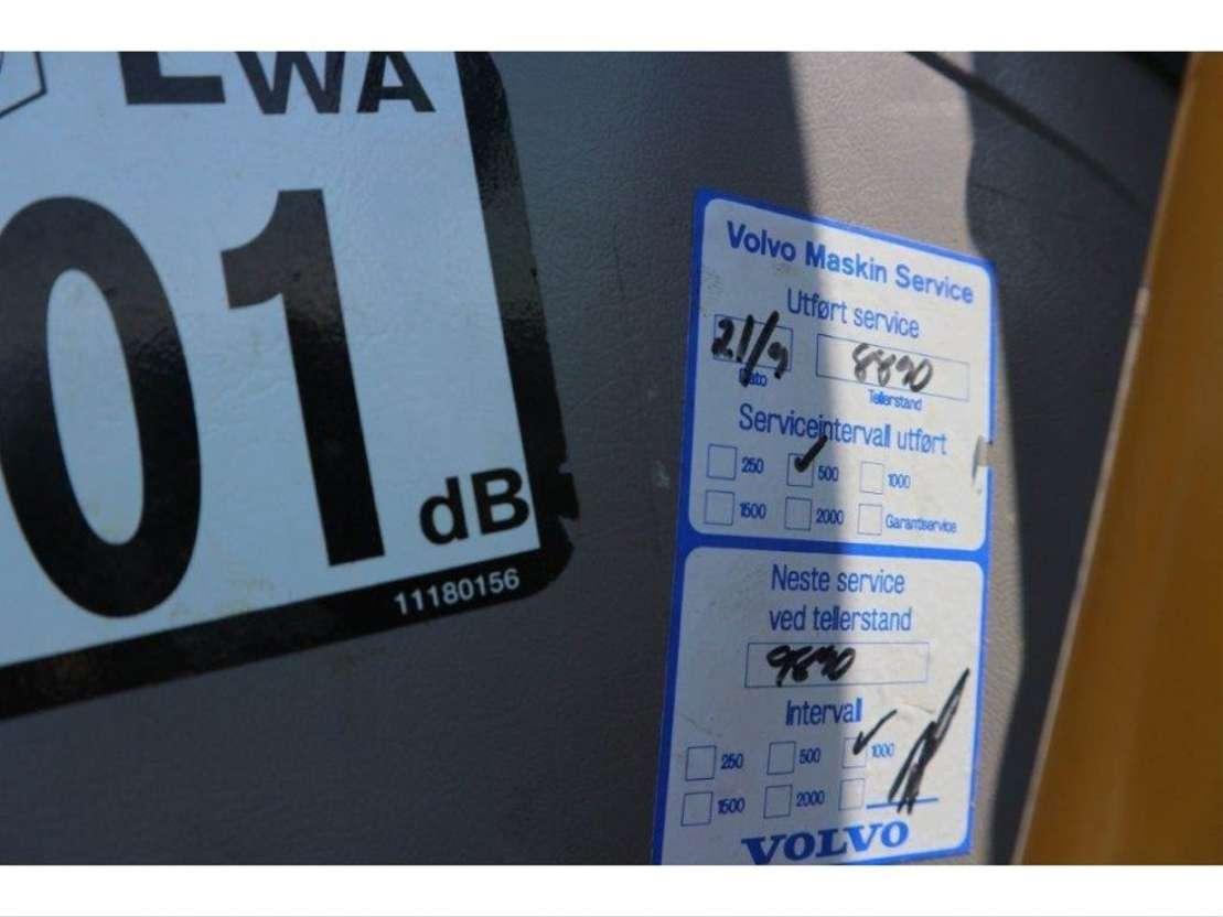 wielgraafmachine Volvo EW 160 C 2008