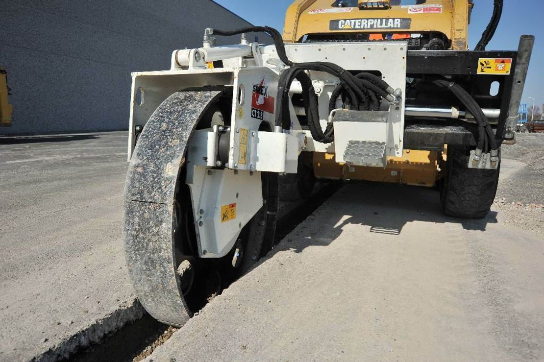 roller Simex CT   Vibrating wheel compactor 2018