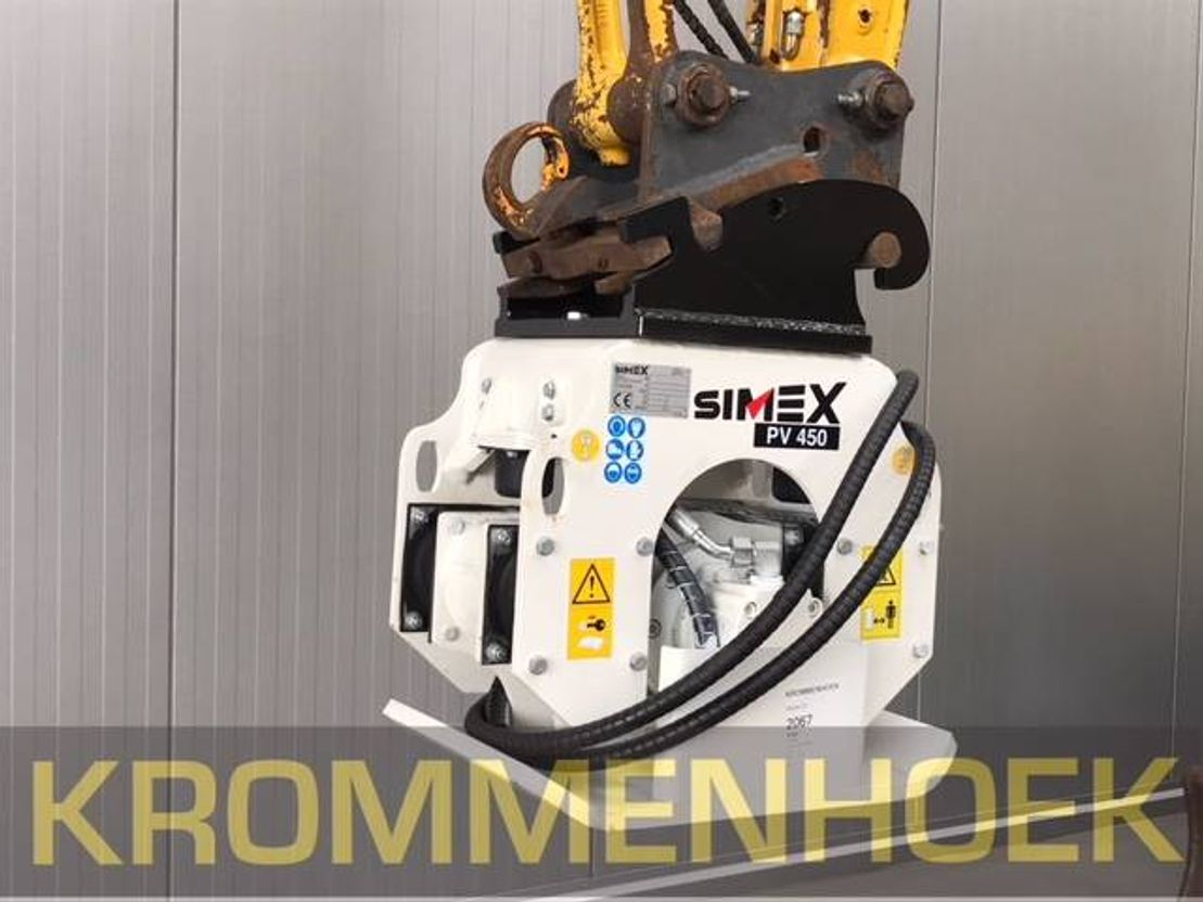 roller Simex PV | Vibration plate compactors 2018