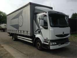 huifzeil vrachtwagen Renault MIDLUM 220 WITH TAILLIFT 2008