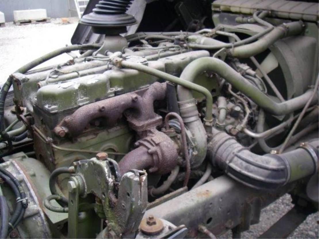 leger vrachtwagen MAN 13-192 F 4X2 1991