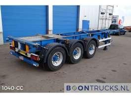containersysteem oplegger Groenewegen 20-30 ft ADR chassis 2004