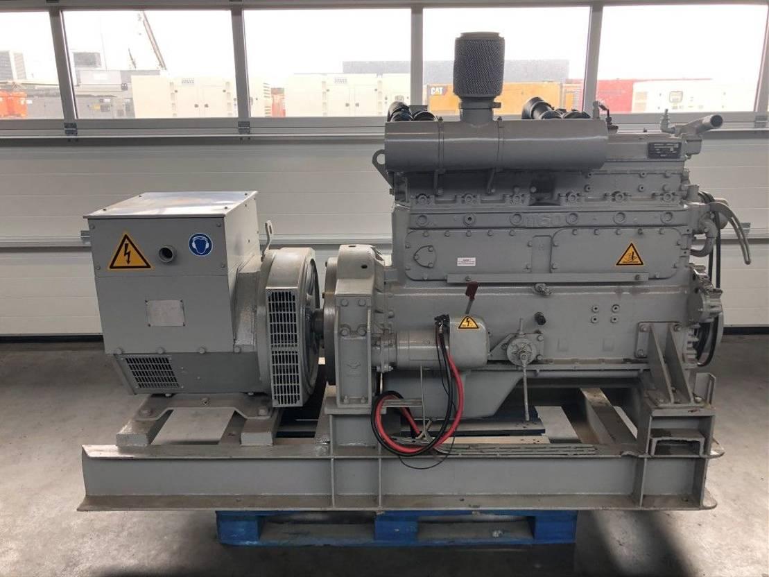 generator DAF Stamford DKA 1160 A 95 kVA generatorset as New!