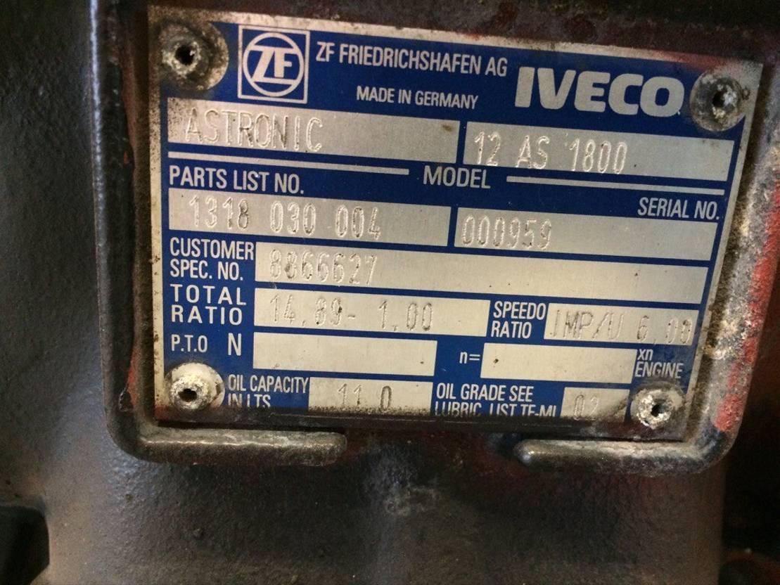 Automatische versnellingsbak vrachtwagen onderdeel ZF AStronic, 12 AS 1800