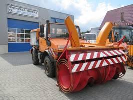 Veegmachine vrachtwagen Unimog U1200  SCHNEE - FRASE Winterdienst ! 1994
