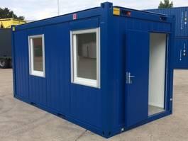 geisoleerde zeecontainer Winters 4,9 x 2,4m - 16ft Bureaucontainers