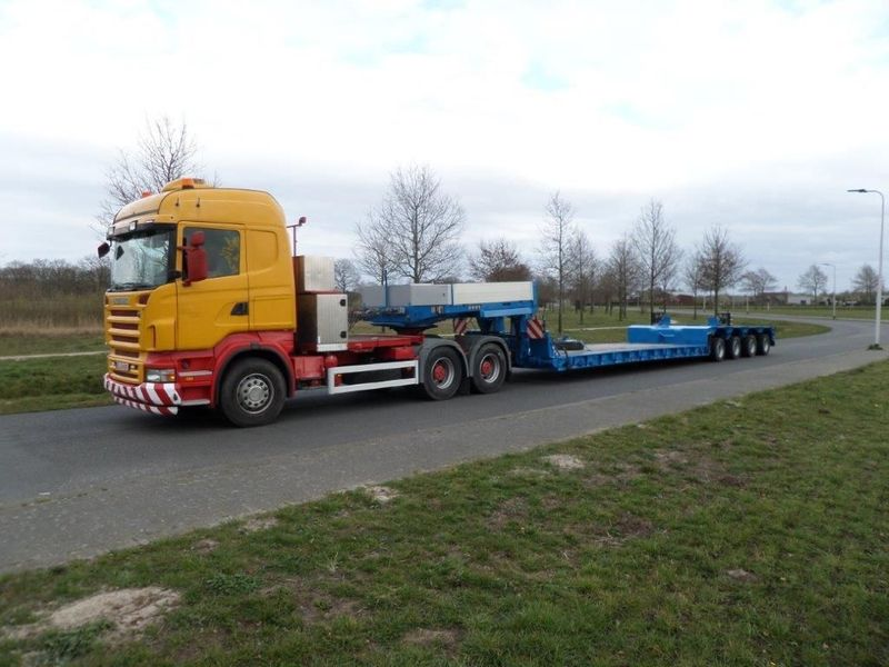 Goldhofer - STZ-VL4-43/80A Low Loader 1