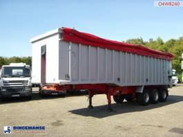 kipper oplegger Wilco x Tipper trailer alu 54 m3 + tarpaulin 2005